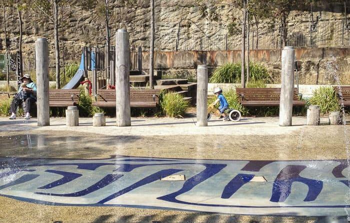 Pirrama Park water park play