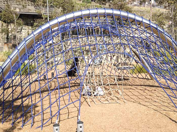 climbing frame Pirrama Park