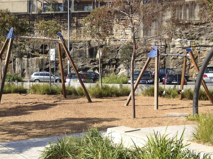 Pirrama Park swings