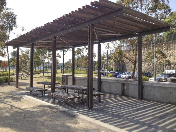Pirrama Park playground