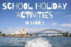 School Holiday Activities in Sydney
