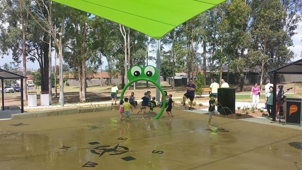 water playground Sydney