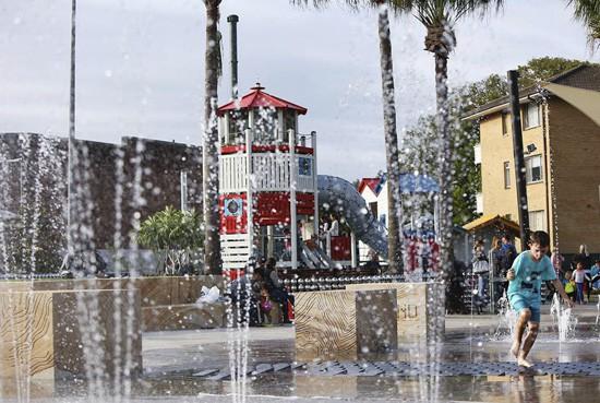 sydney water playground