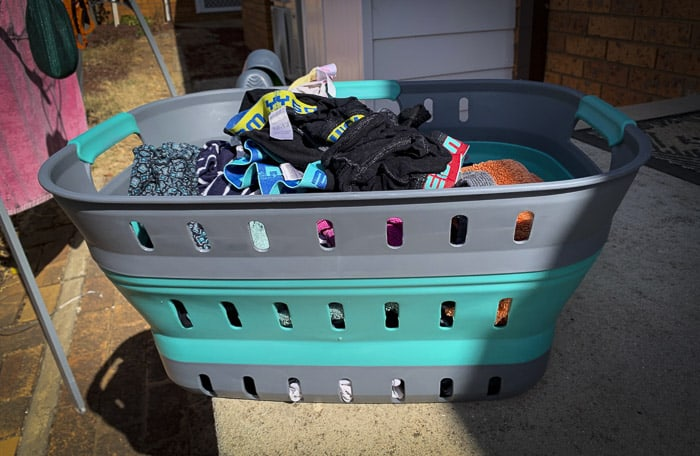 best collapsible laundry basket