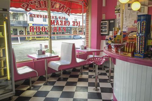 Bathurst what to do annie's ice cream parlour