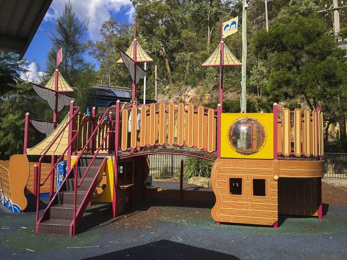 Dusthole Bay playground