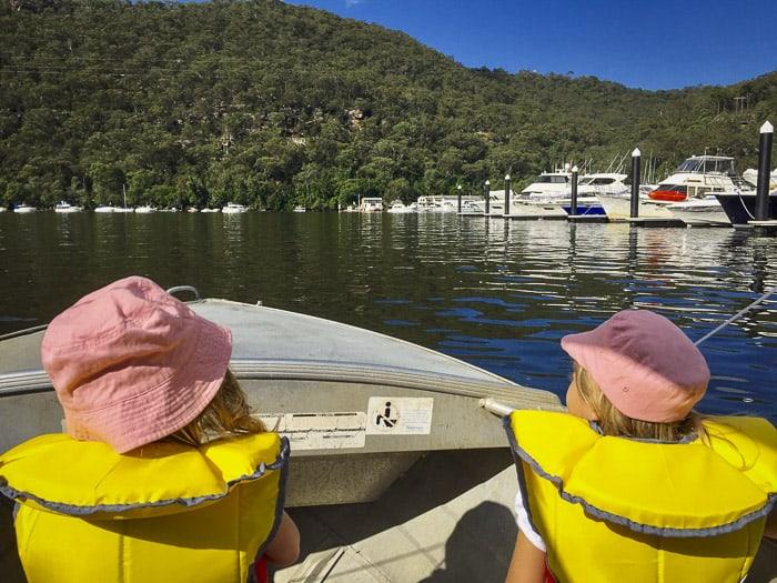 Berowra waters hire boat
