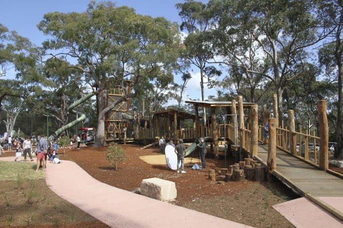 Oatley park nature based playground