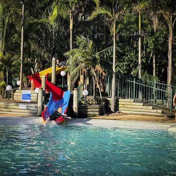 Ocean Beach Holiday Park umina slide pools