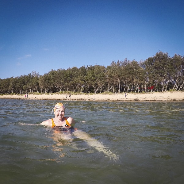 Umina Beach swimming