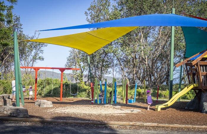 Ocean Beach caravan park playground