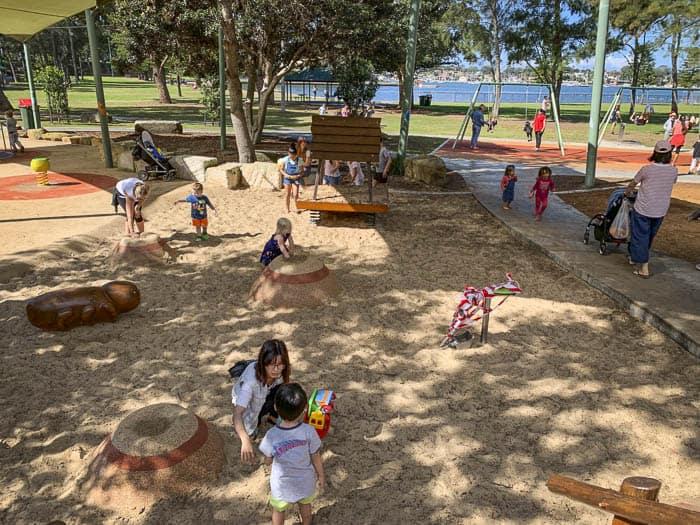 carss park sand play