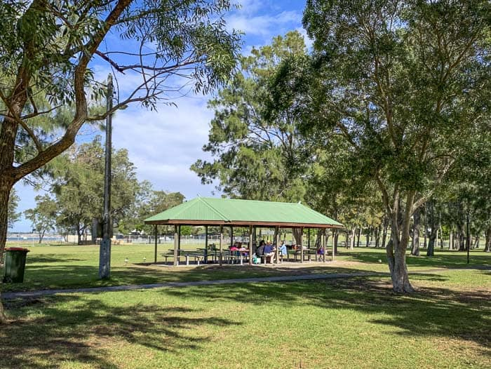 carss park BBQs and picnic shelters