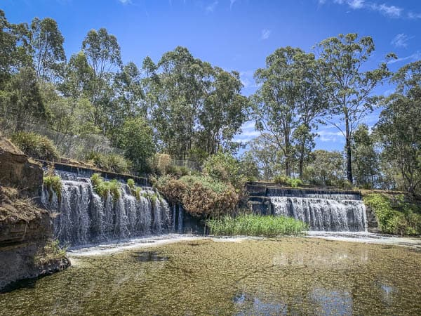 Central Gardens Merrylands waterfalls