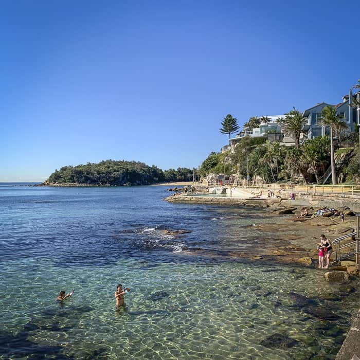 manly beach rock pool is fairy bower