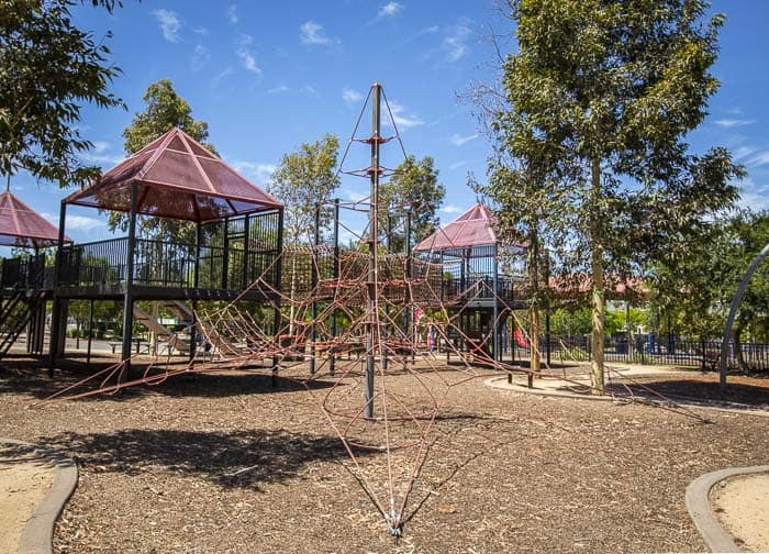 Holroyd Gardens adventurous playgrounds