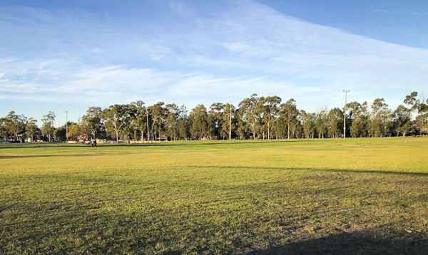 showing wide grassy spaces at Granville Park