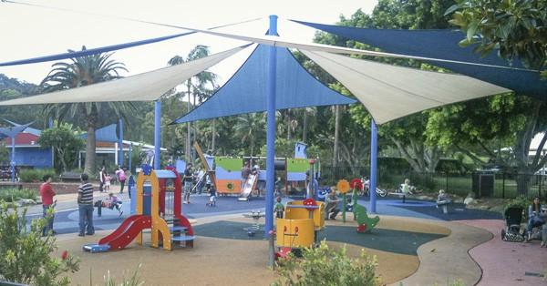 flying fox playground mona vale