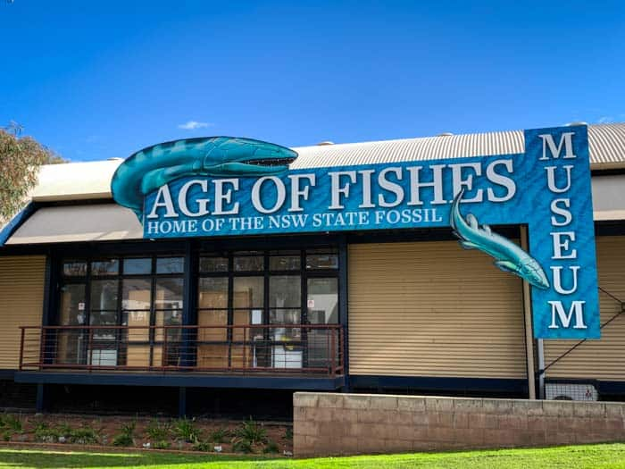 Age of the Fishes Museum in Canowindra exterior
