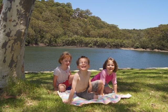 Davidson Park children picnic