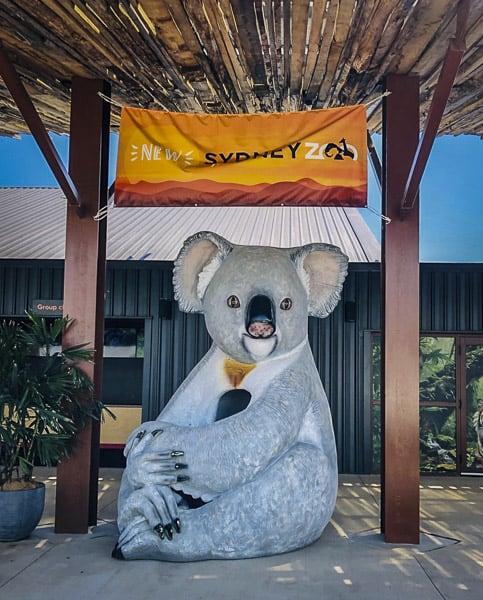 Sydney Zoo western sydney entrance