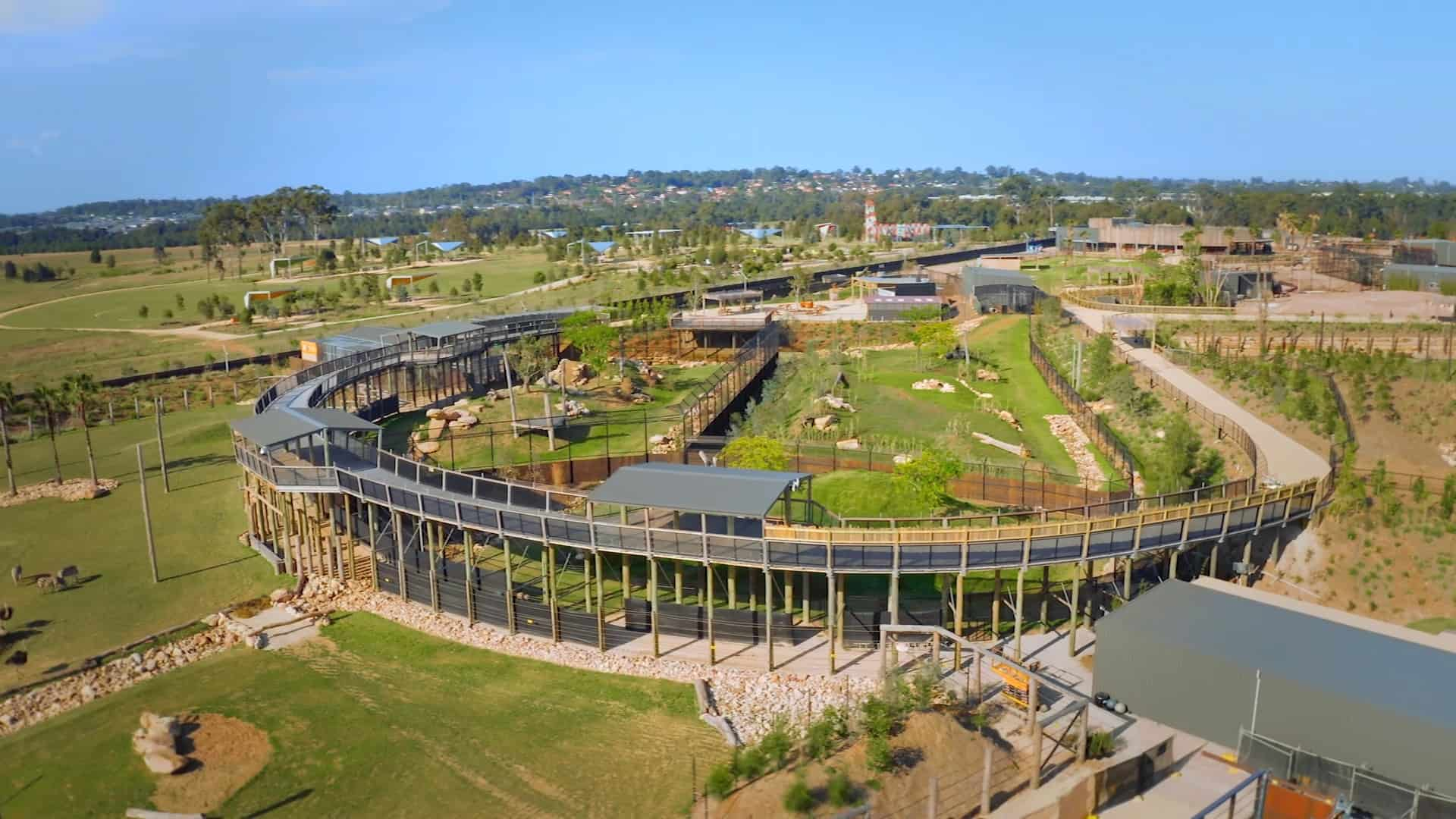 Sydney Zoo aerial walkway image