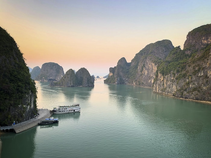 visit halong bay with children
