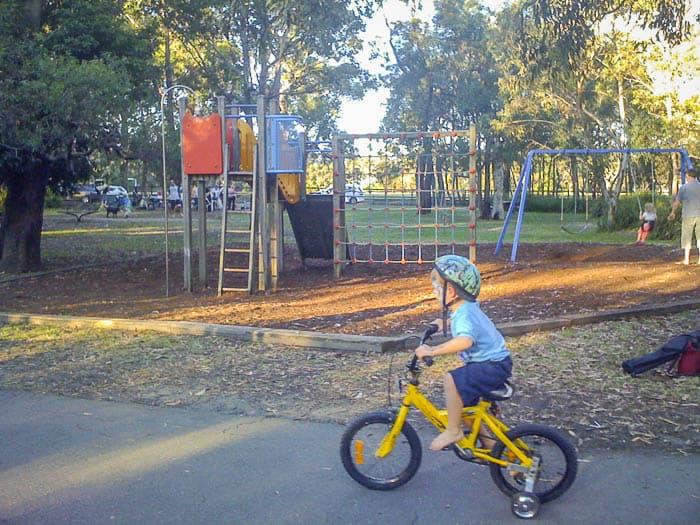 sydney best bike tracks st ives bike track