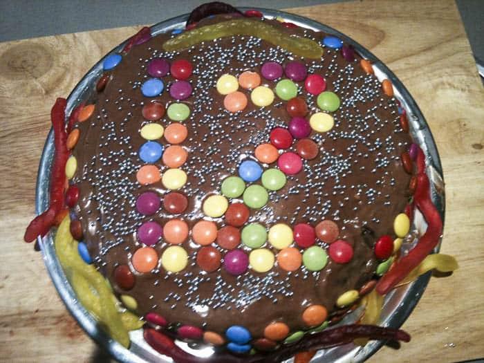 birthday cake beetroot and chocolate