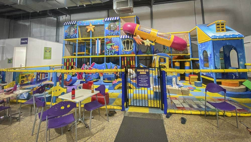 kids world playland and cafe bankstown little kids area