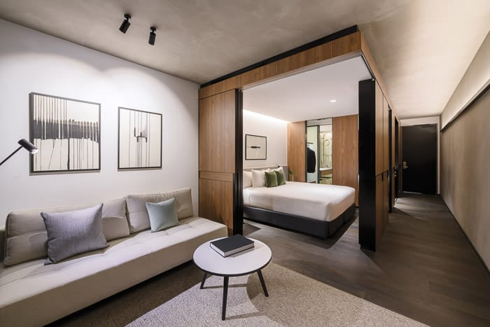 A By Adina bedroom 1, Constitution Avenue